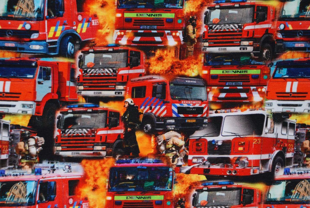 Tricot Digitale Print Brandweer NL