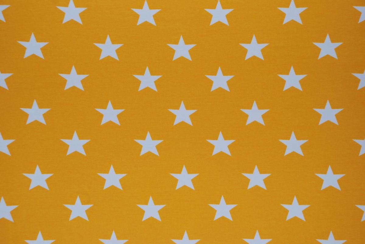 Tricot Grote sterren Geel