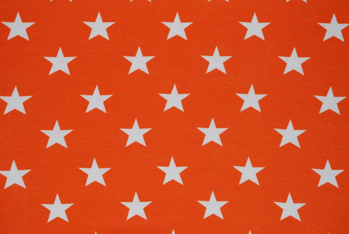 Tricot Grote sterren Oranje