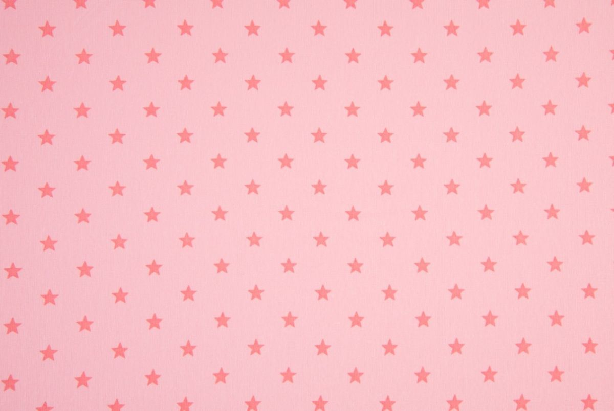 Tricot roze sterren