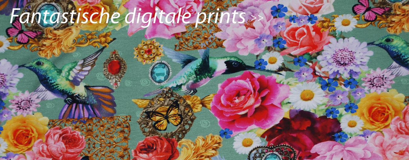tricot digitale print